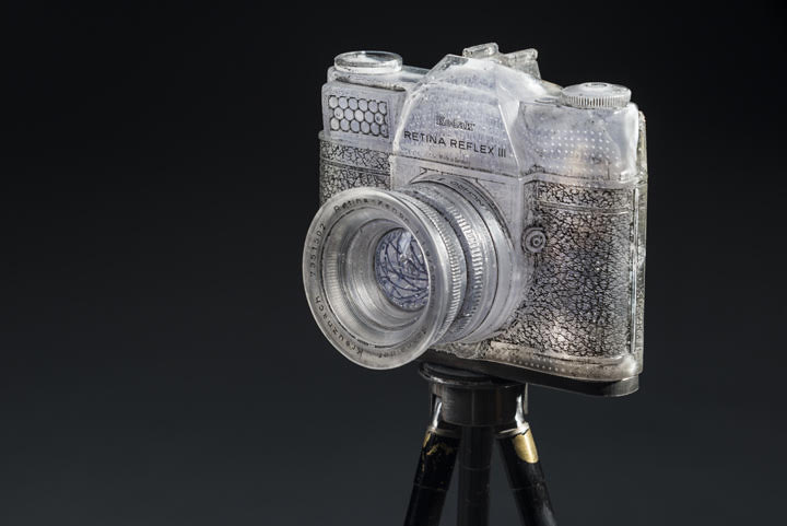 "Josh Hershman Glass Camera ""Triple Exposure"""