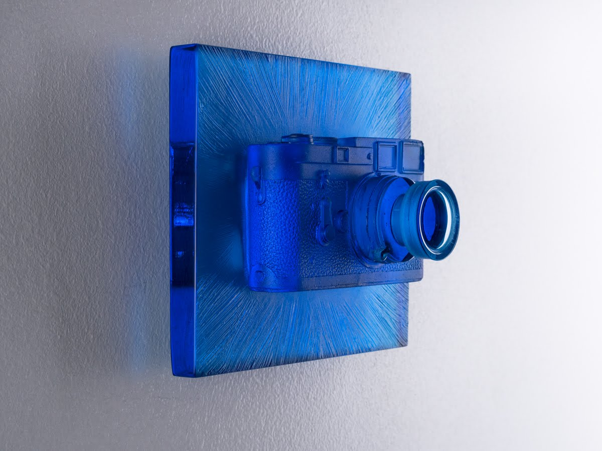 Glass Camera Josh Hershman Blue Perception