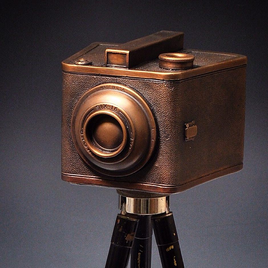 "Bronze Camera ""Rodin's Kodak"" Josh Hershman"