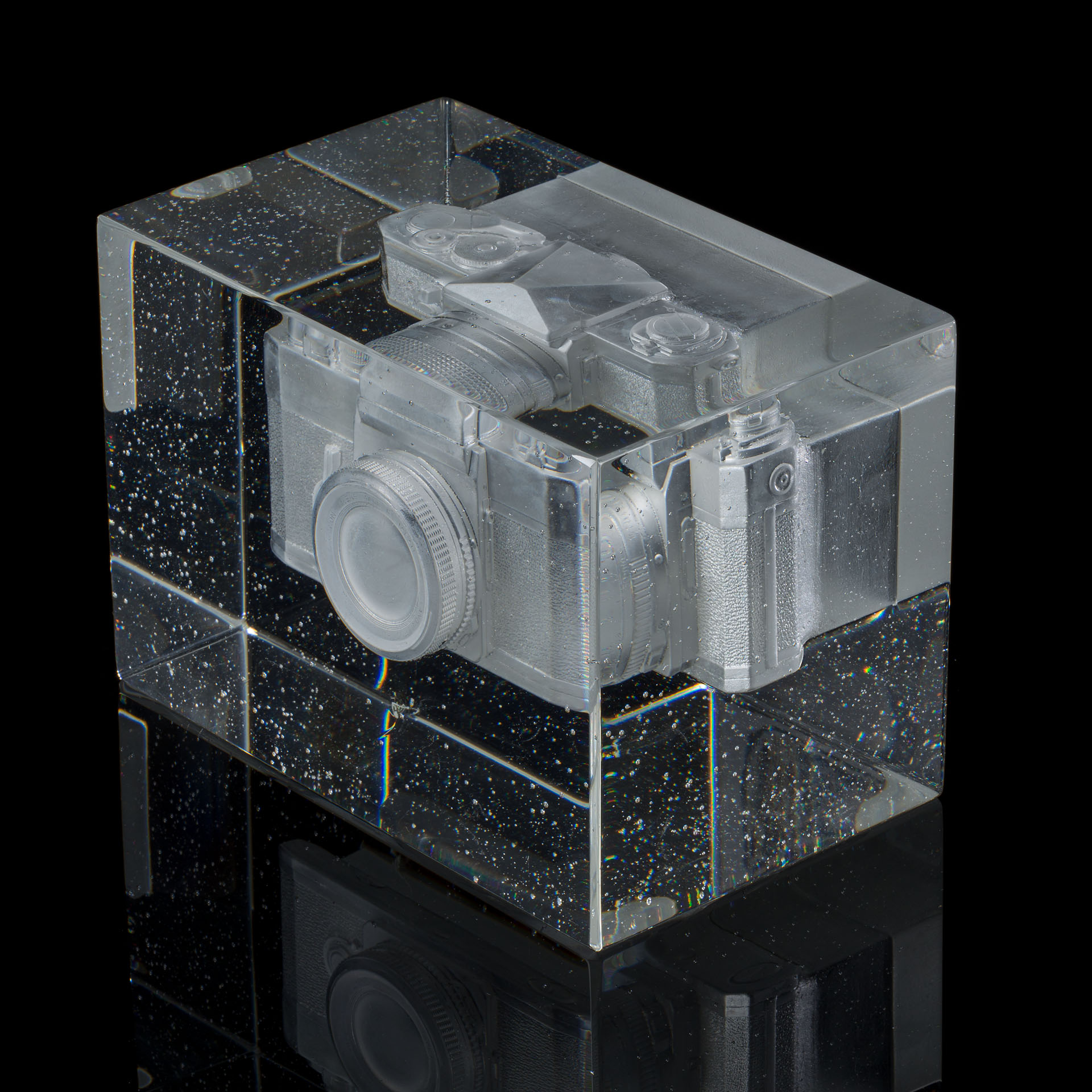 "Josh Hershman Glass Camera ""Forgetting in the process of remembering I"""